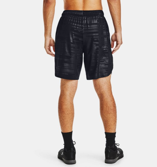 Mens UA Training Stretch Printed Shorts