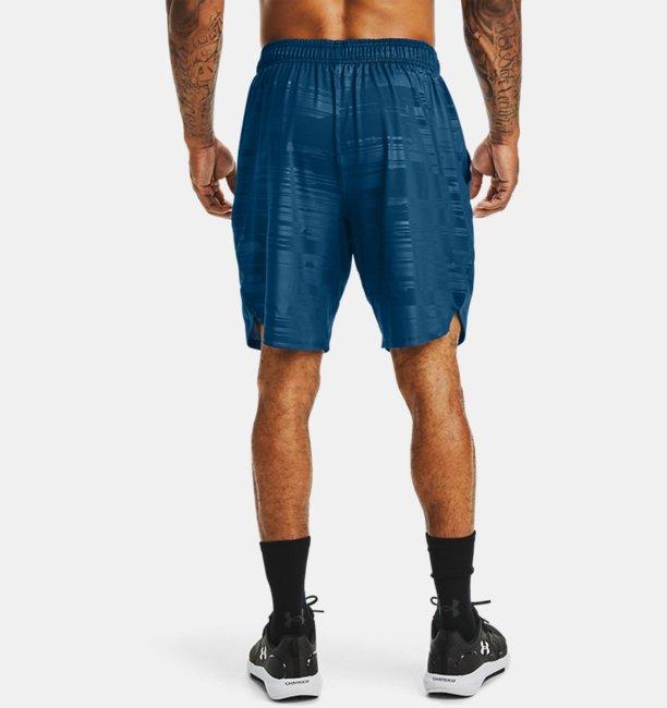 Mens UA Training Stretch Printed Shorts