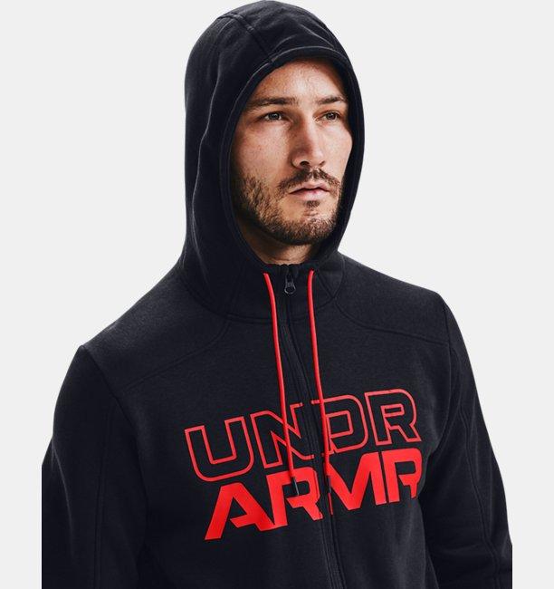 Sudadera con capucha y cremallera completa UA Baseline para hombre