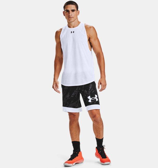 Mens UA Printed Retro Shorts