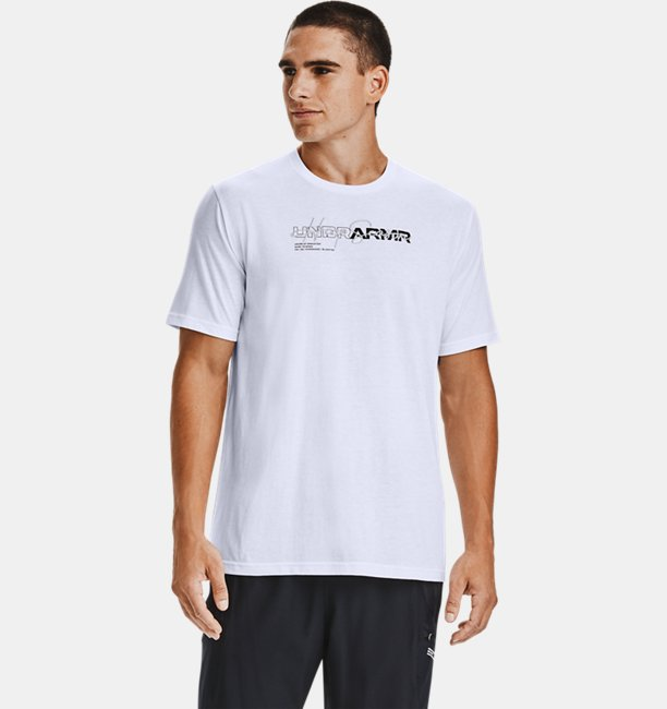Mens UA UNDR ARMR Wordmark T-Shirt