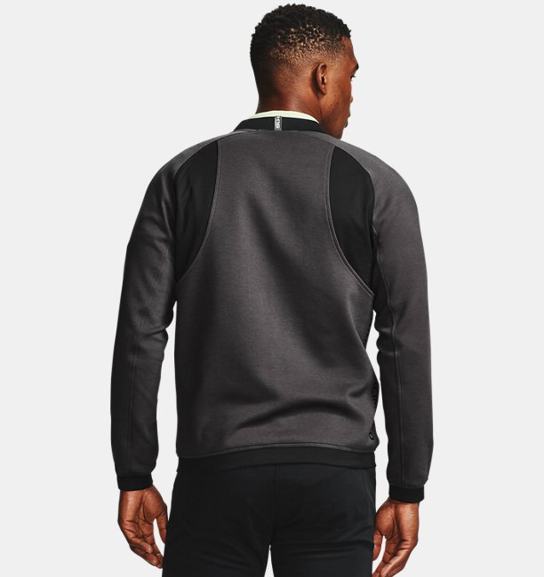 Mens UA Range Unlimited Storm Full-Zip Bomber Jacket