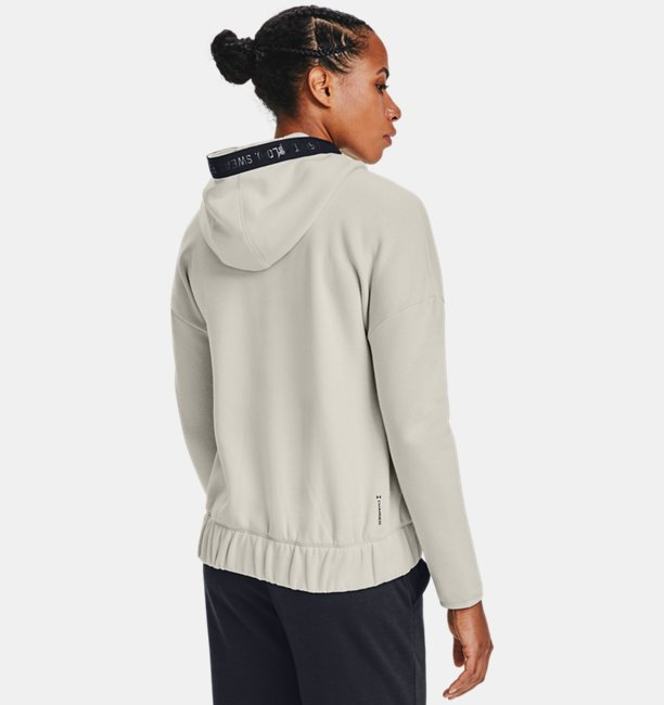 Womens Project Rock Charged Cotton® Fleece Full Zip