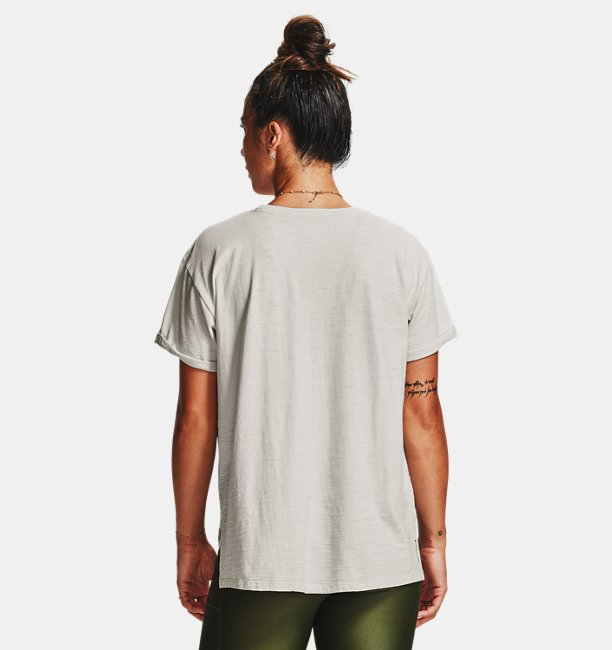 Womens Project Rock Charged Cotton® Short Sleeve