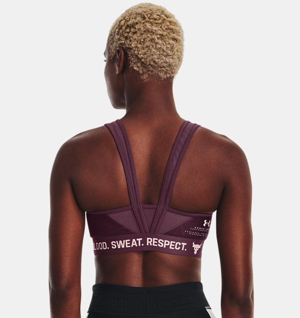 Womens Project Rock Sports Bra