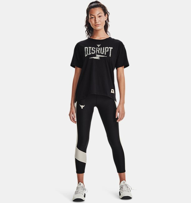Womens Project Rock Disrupt Short Sleeve