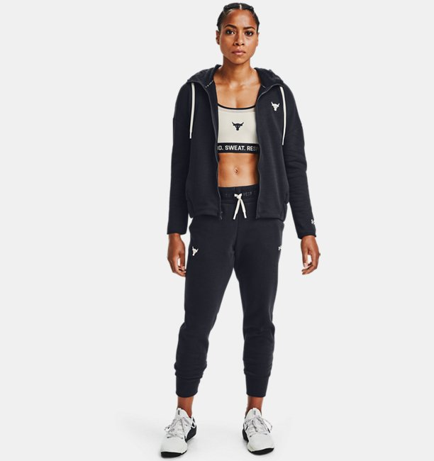 Womens Project Rock Charged Cotton® Fleece Pants