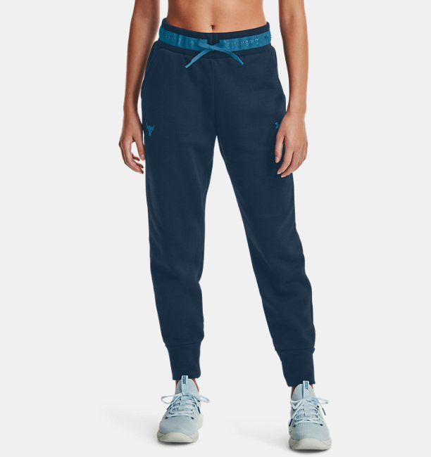 Womens Project Rock Charged Cotton® Fleece Trousers