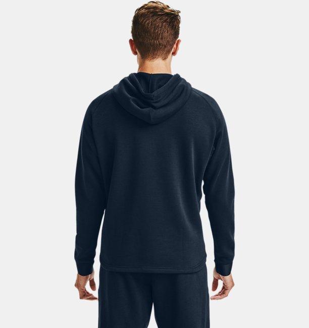Herren Charged Cotton® Fleece Hoodie mit durchgehendem Zip