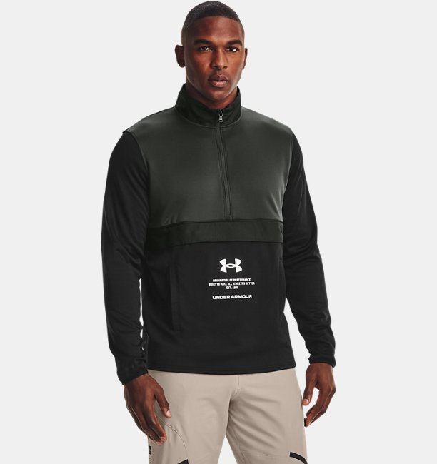 Herren Armour Fleece® Storm mit ½ Zip