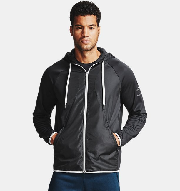 Mens Armour Fleece® Storm Full Zip Hoodie