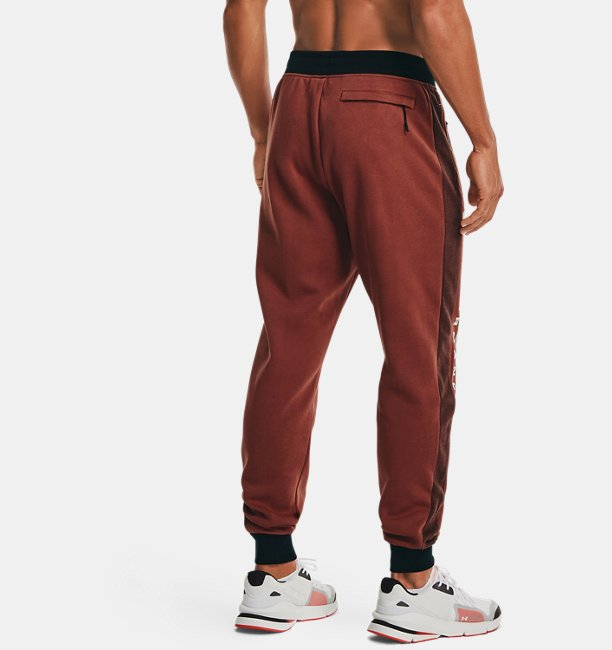 Mens UA Rival Fleece AMP Joggers