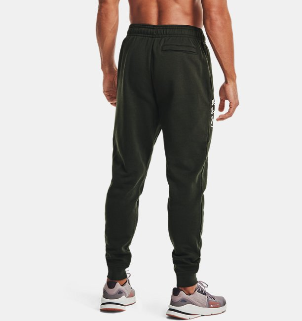 Mens UA Rival Fleece Multilogo Joggers