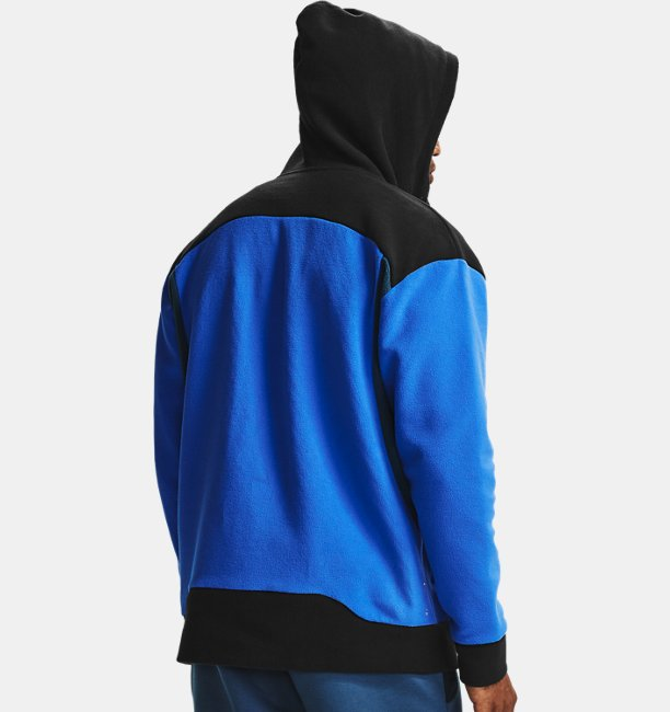 Herenhoodie UA RECOVER™ Fleece met volledige rits