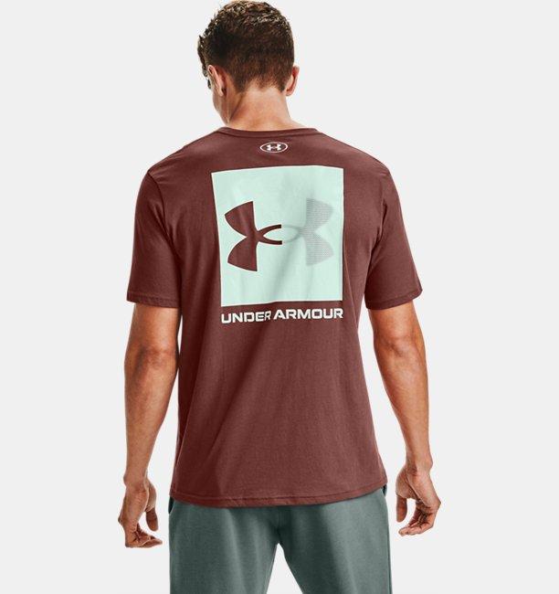 Mens UA Box Logo Short Sleeve
