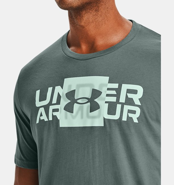 Mens UA Box Logo Wordmark Short Sleeve