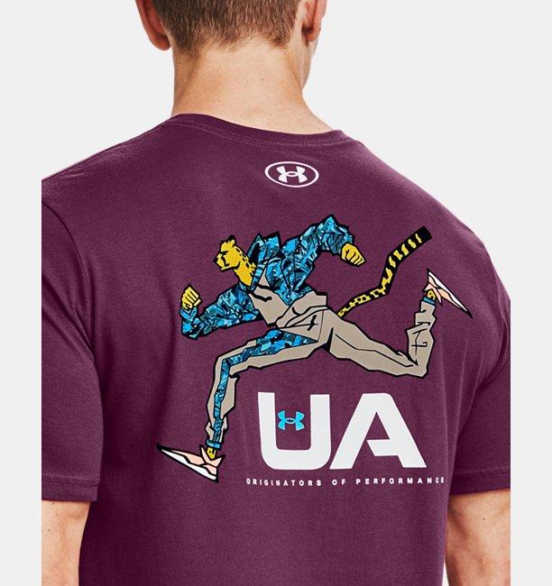 Herren UA Running Cheetah T-Shirt