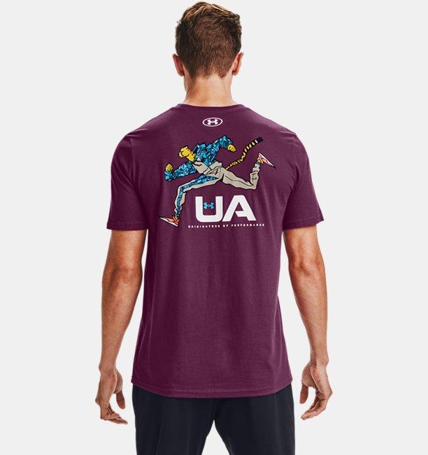 Mens UA Running Cheetah T-Shirt