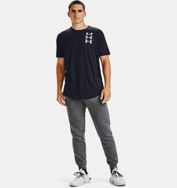 T-shirt à manches courtes UA Triple Stack Logo pour homme