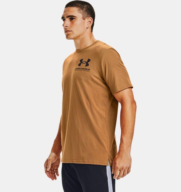 Mens UA Performance Big Logo Short Sleeve