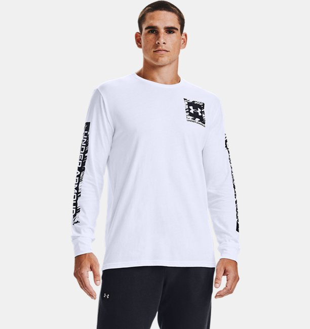 Men's UA Box Logo Sketch Long Sleeve