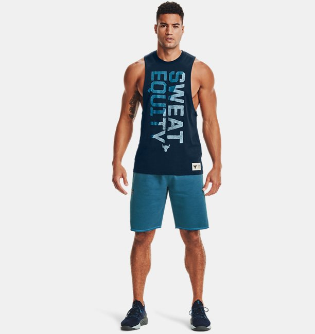 Mens Project Rock Sweat Equity Tank
