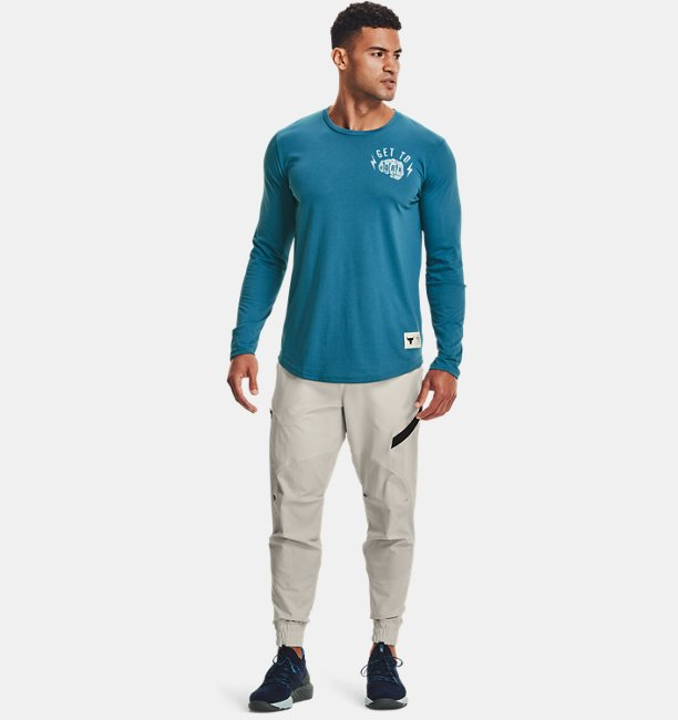 Mens Project Rock Get To Work Long Sleeve