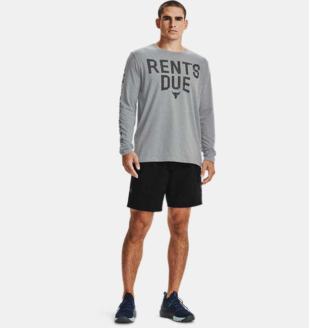 Men's Project Rock Rents Due Long Sleeve