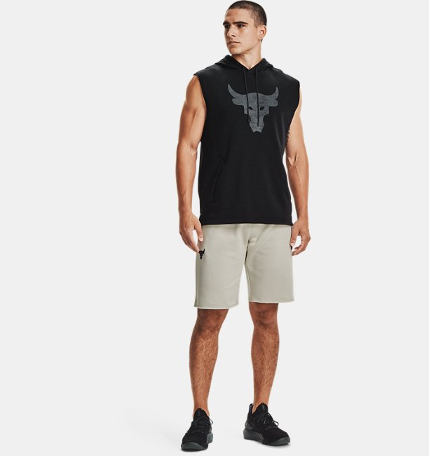 Mens Project Rock Charged Cotton® Fleece Shorts