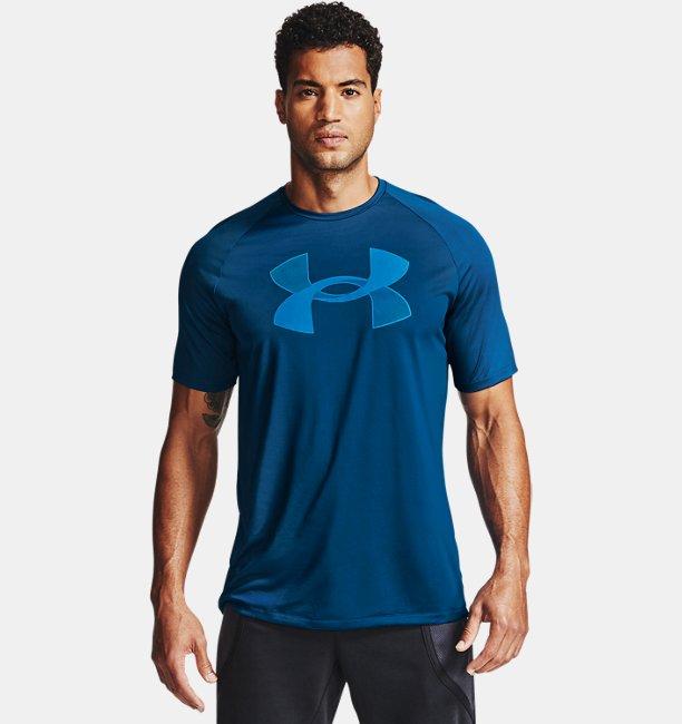 Mens UA Tech™ Big Logo Short Sleeve