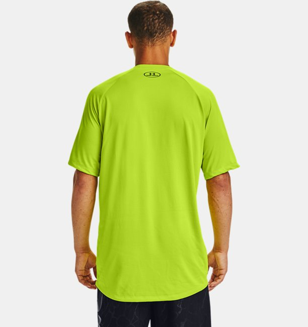 Mens UA Tech™ Logo Wordmark Short Sleeve