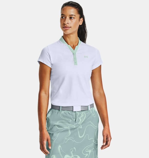 Womens UA Zinger Graphic Short Sleeve Polo