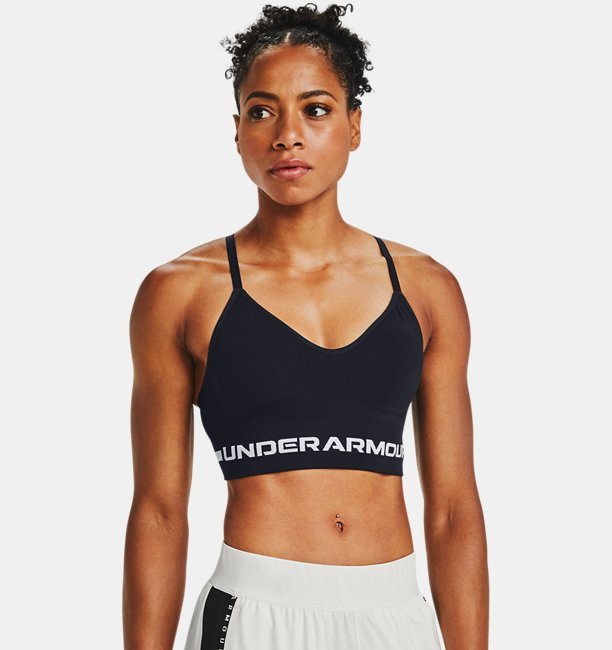 Womens UA Seamless Low Long Sports Bra