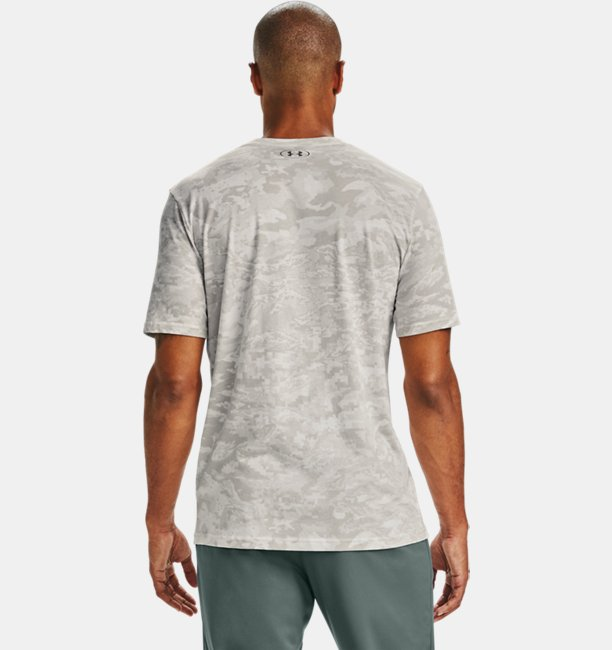 Mens UA All-Over Logo Short Sleeve