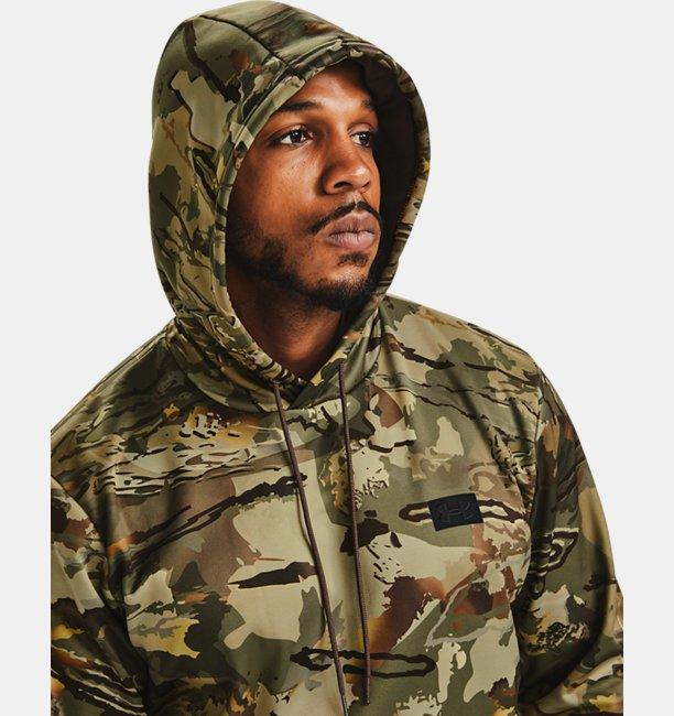 Mens Armour Fleece® Camo Hoodie