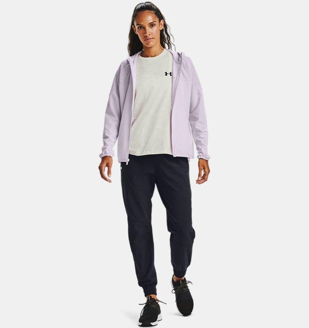 Womens UA Woven Printed Jacket