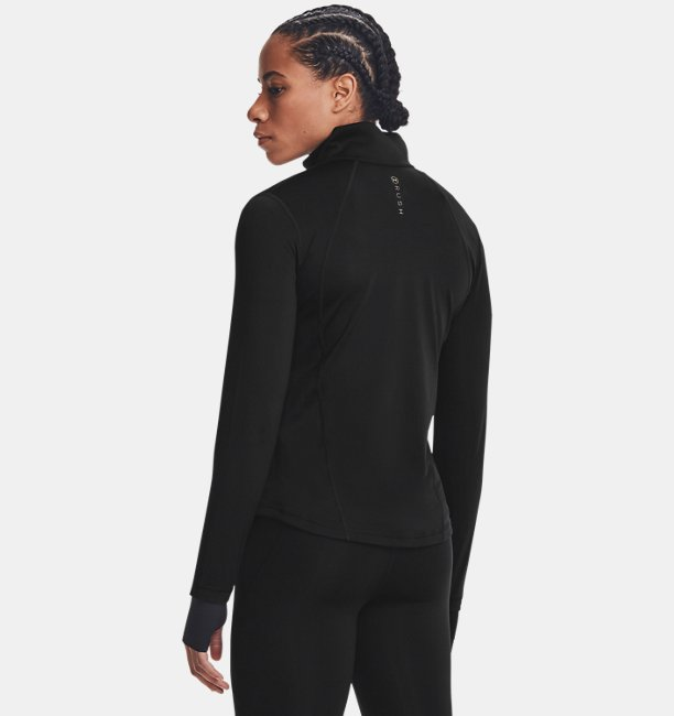 Damen UA RUSH™ Oberteil mit durchgehendem Zip