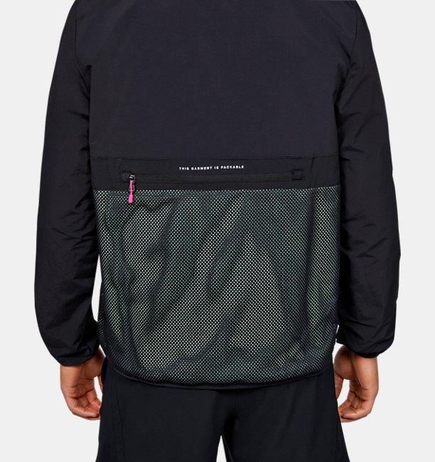 Mens UA Summit Ripstop Anorak Jacket
