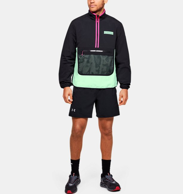 Mens UA Summit Ripstop Anorak Jacket