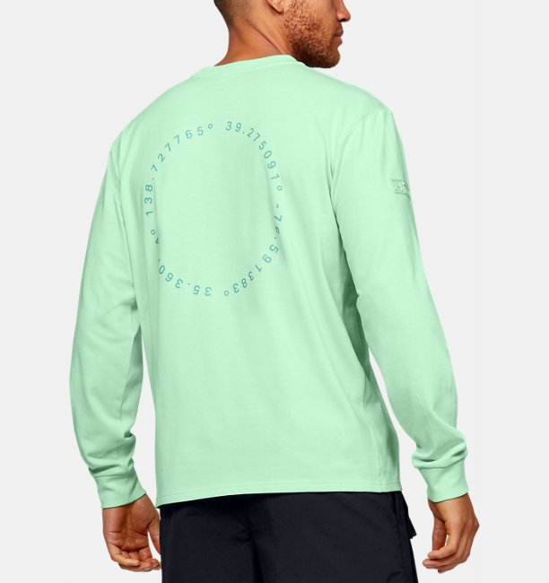 Mens UA Summit Heavy Long Sleeve