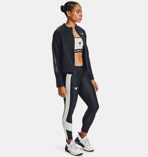 Sudadera Project Rock Full Zip para Mujer