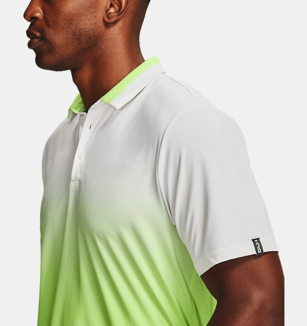 Mens UA Range Unlimited Fade Polo
