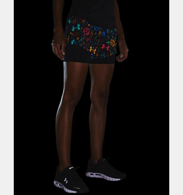 Womens UA Launch DOD 2-in-1 Shorts