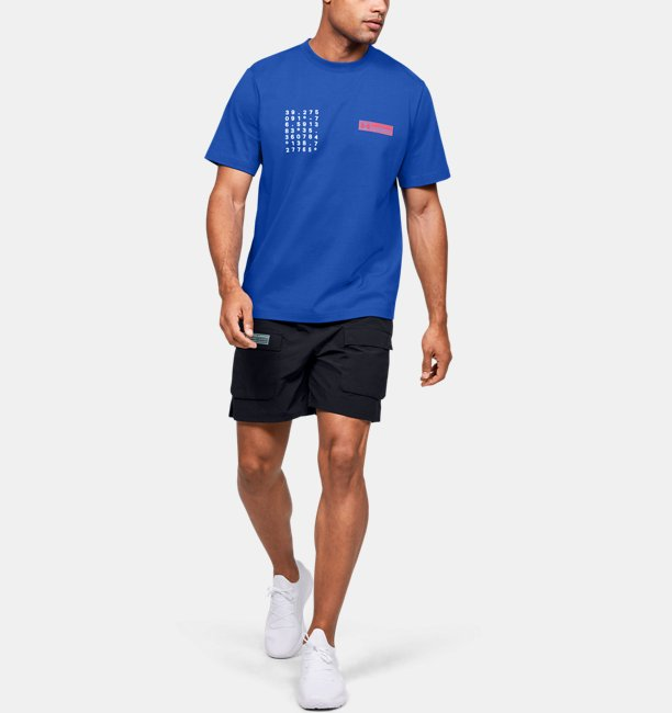 Mens UA Summit Graphic Short Sleeve