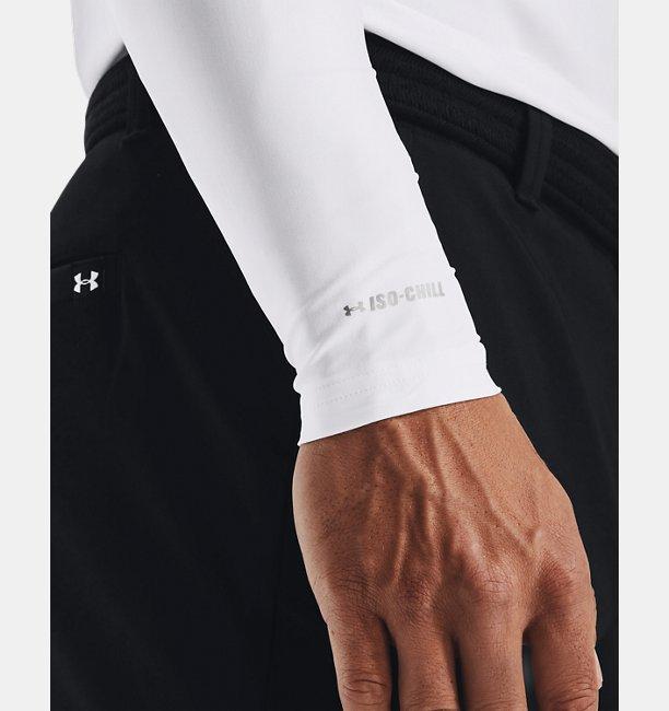 남성 UA 이소-칠 긴팔 골프 모크