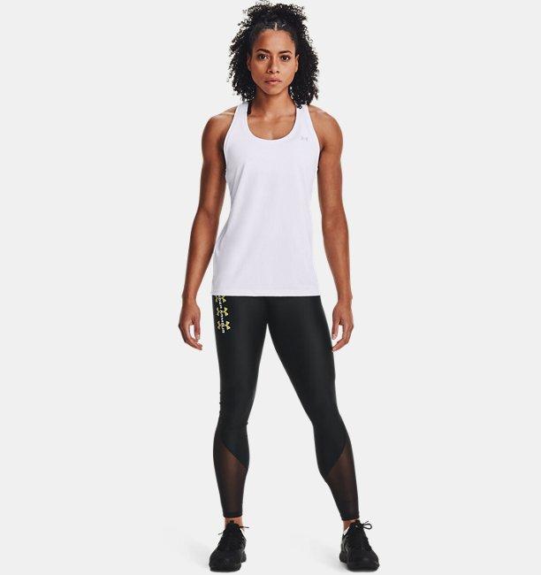 Womens HeatGear® Armour Mesh Wordmark Leggings