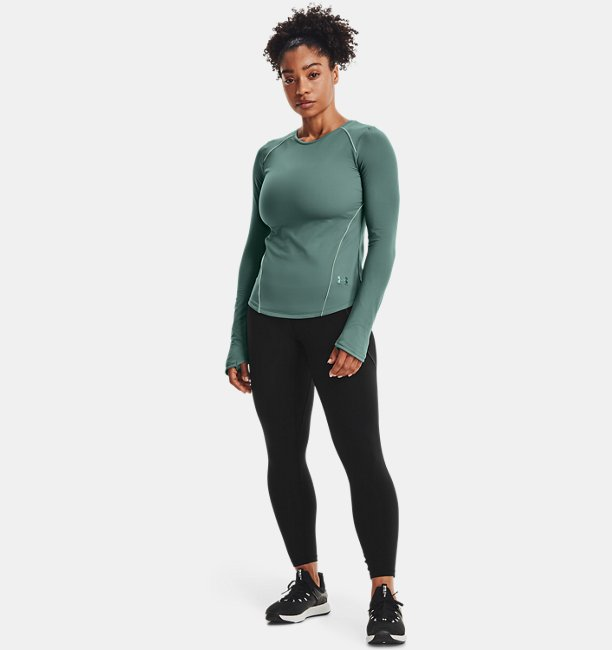 Womens UA HydraFuse Crew Long Sleeve