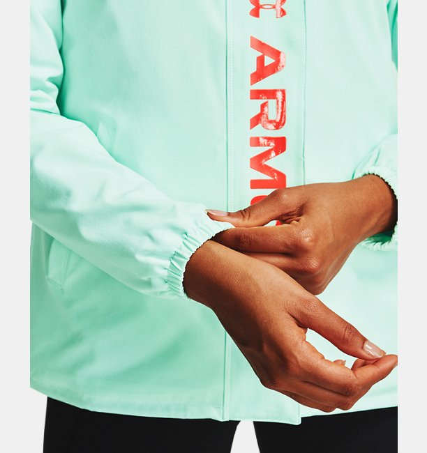 Womens UA RECOVER™ Woven CB Jacket