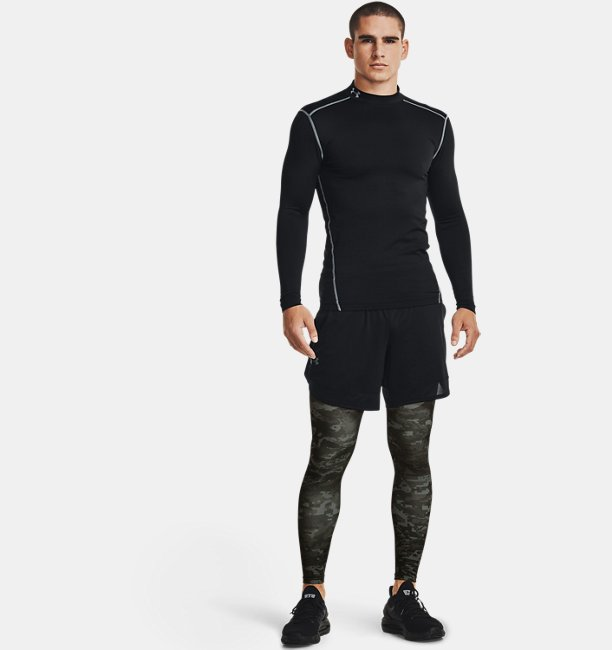 Mens ColdGear® Armour Printed Leggings
