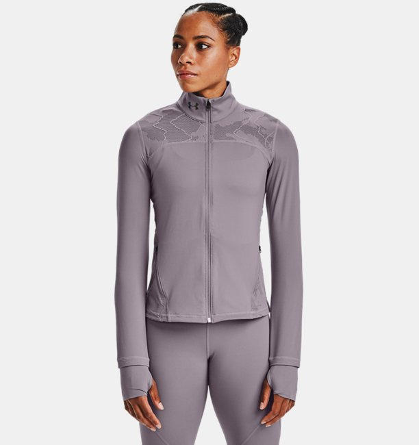 Womens UA RUSH™ Vent Full Zip